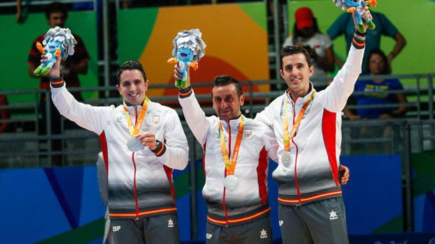 España, plata en tenis de mesa tras perder contra China