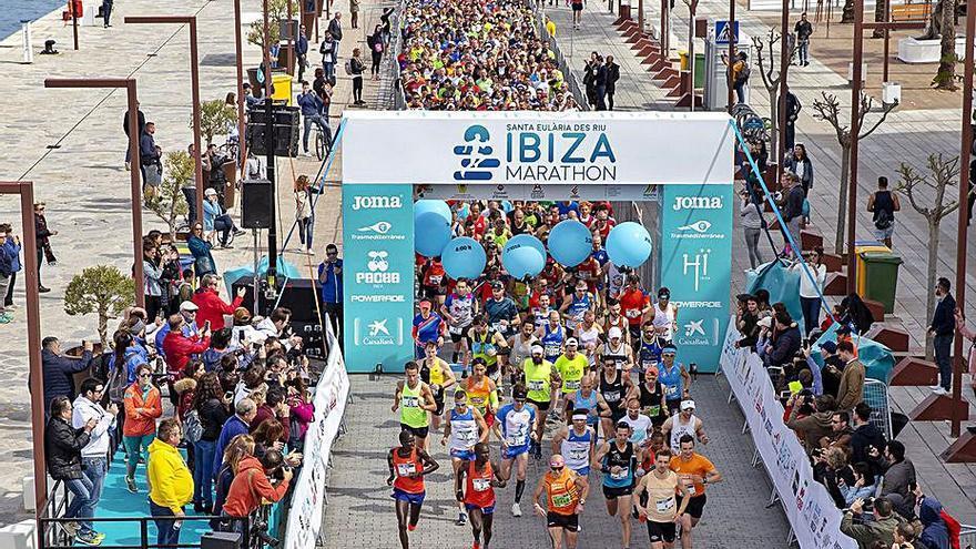El covid obliga a reducir a una sola prueba el Ibiza Marathon