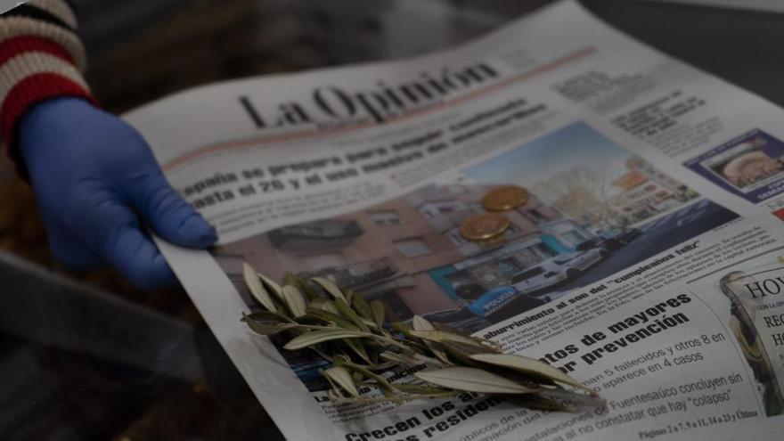 Periódico LA OPINIÓN-EL CORREO DE ZAMORA.