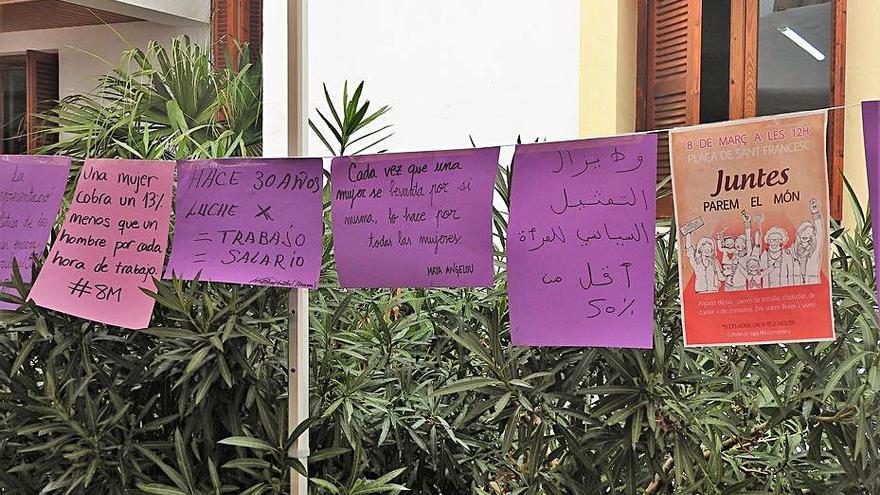 Actos para luchar por  una «igualdad real» en Formentera por el 8M