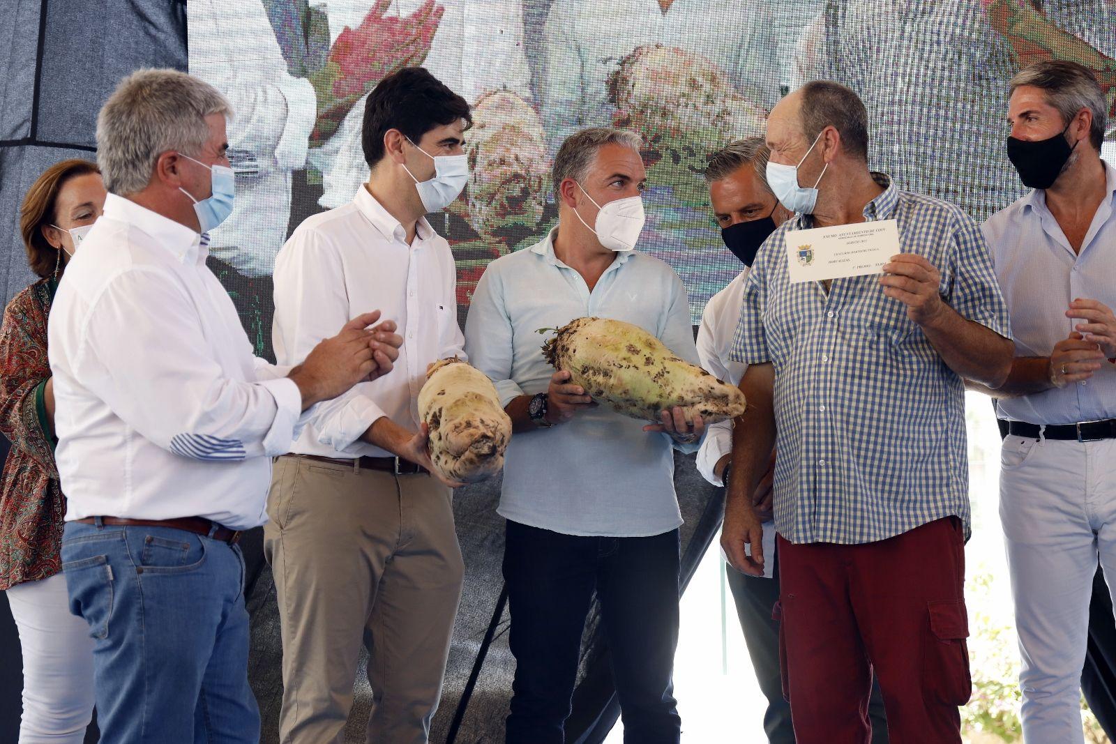 Concurso hortofrutícola de Coín y subasta Mejor Tomate Huevo de Toro