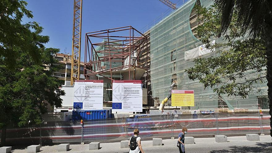 Cinc anys de treballs per transformar de dalt a baix l'antic col·legi de Sant Ignasi