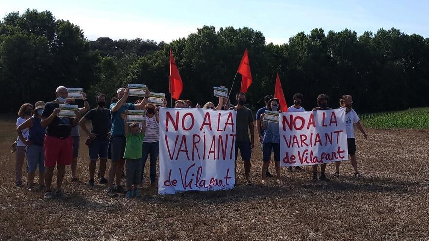 """""""No a la variant de Vilafant"""" pressiona perquè es busquin alternatives al projecte"""