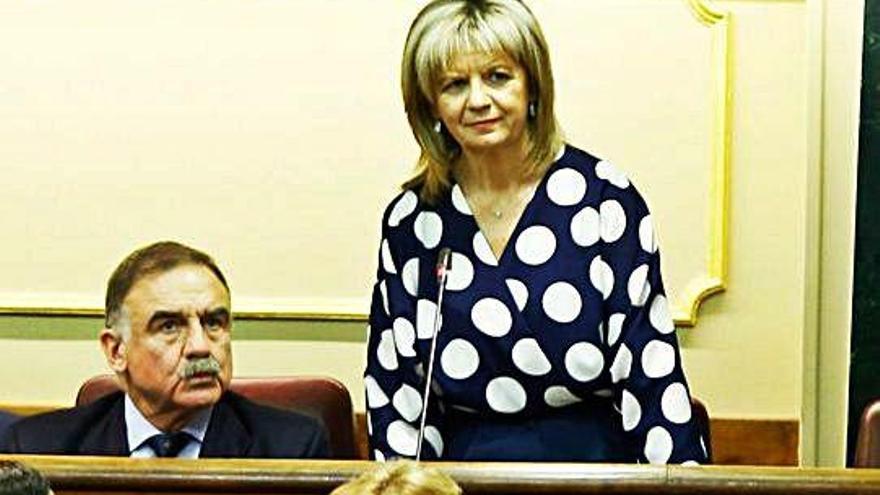 Elvira Velasco toma posesión de su acta de diputada