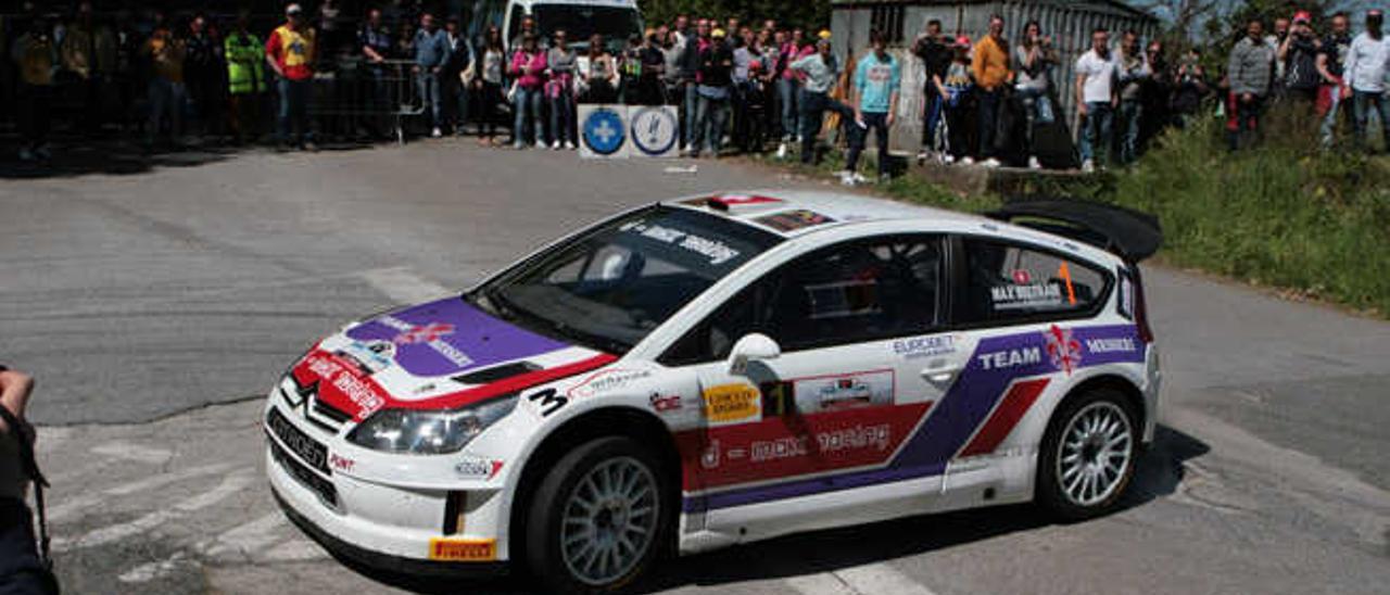 Kankkunen y Auriol repiten en el Rally El Corte Inglés con Citroën
