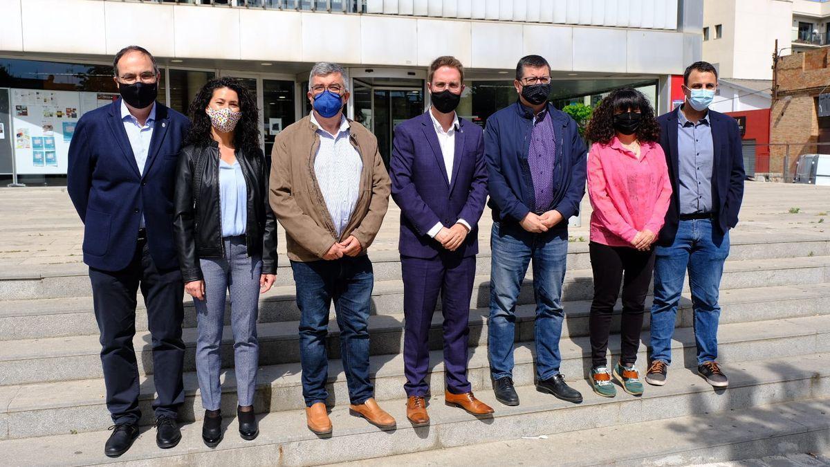 Set dels vuit regidors de Junts per Figueres