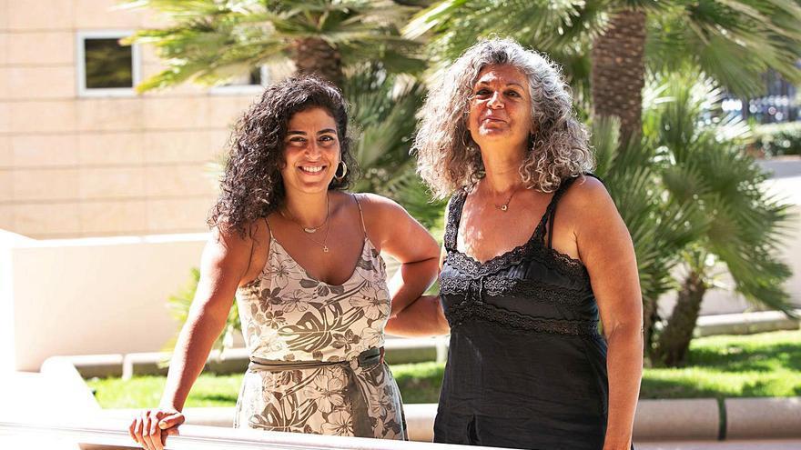 Madre e hija unidas por el arte y la memoria