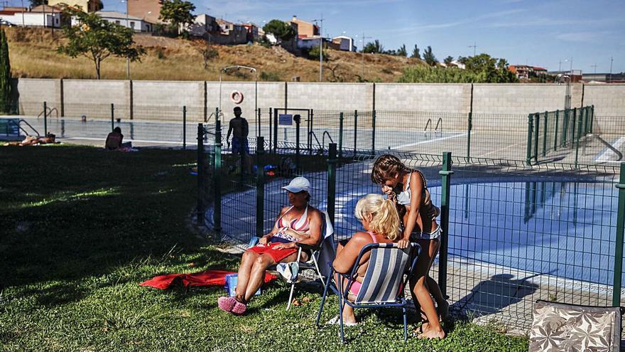 Las piscinas de Zamora no se llenan en el verano del COVID