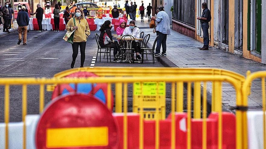 Cierre de Haraclio Sánchez al tráfico en mayo del año pasado. | | MARÍA PISACA