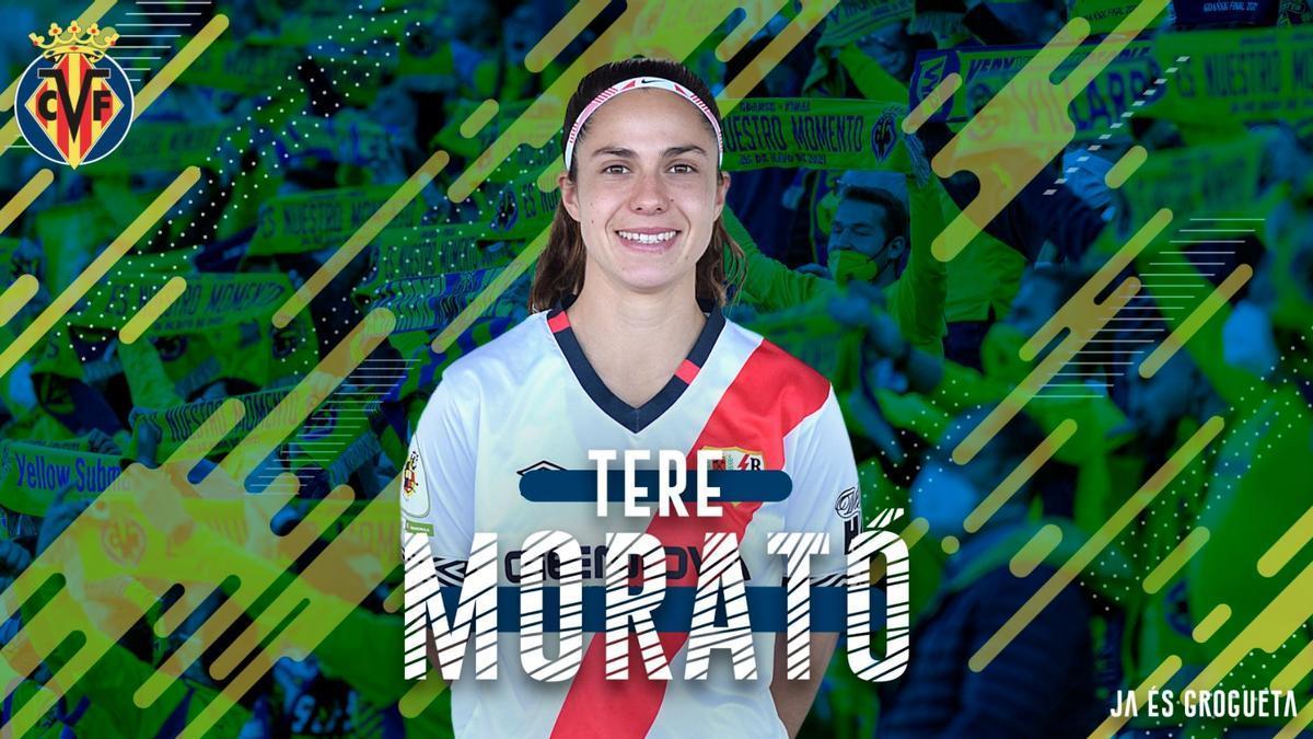 Tere Morató, nuevo refuerzo del Villarreal CF