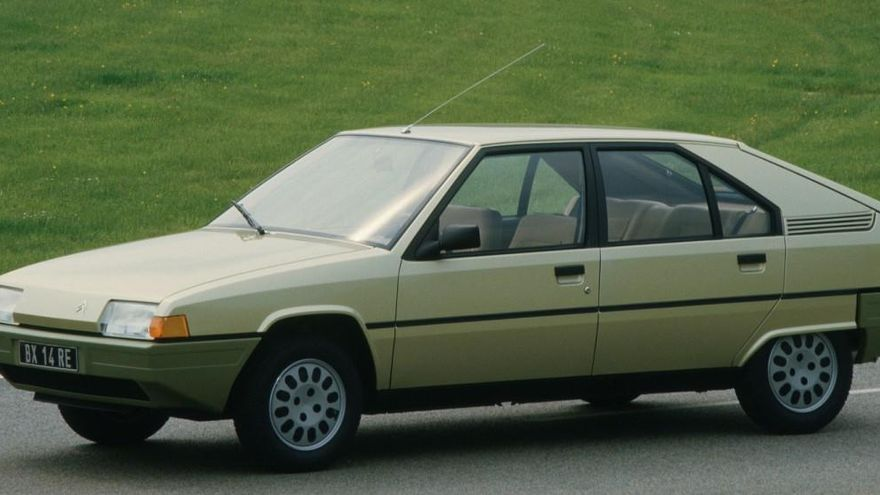 Citroën BX: la historia del coche que bajó de La Torre Eiffel
