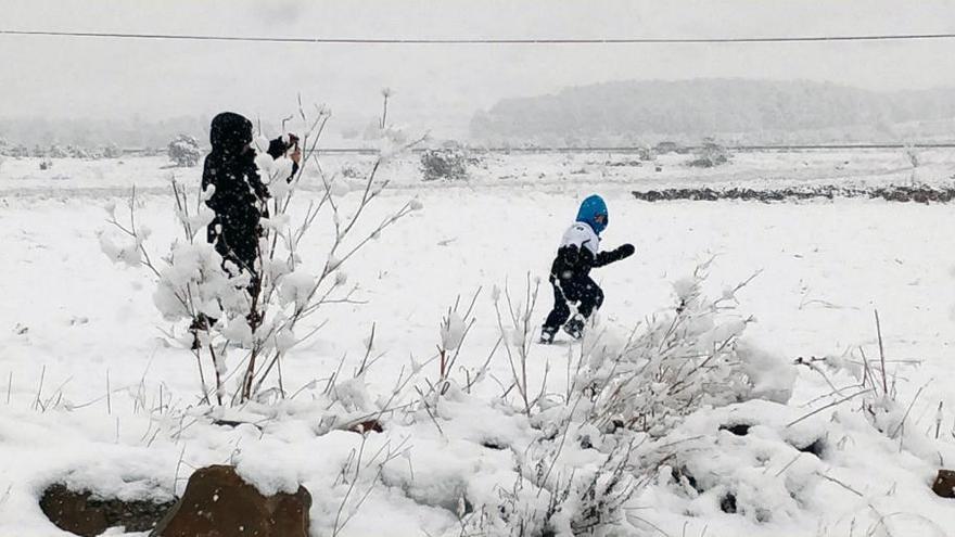 Dónde podría nevar este domingo en la Comunitat