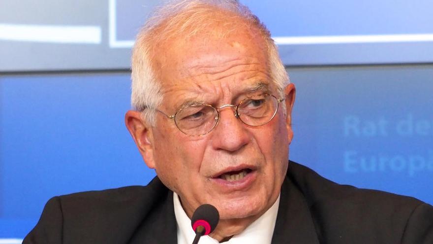 Borrell, en cuarentena por contacto con un positivo