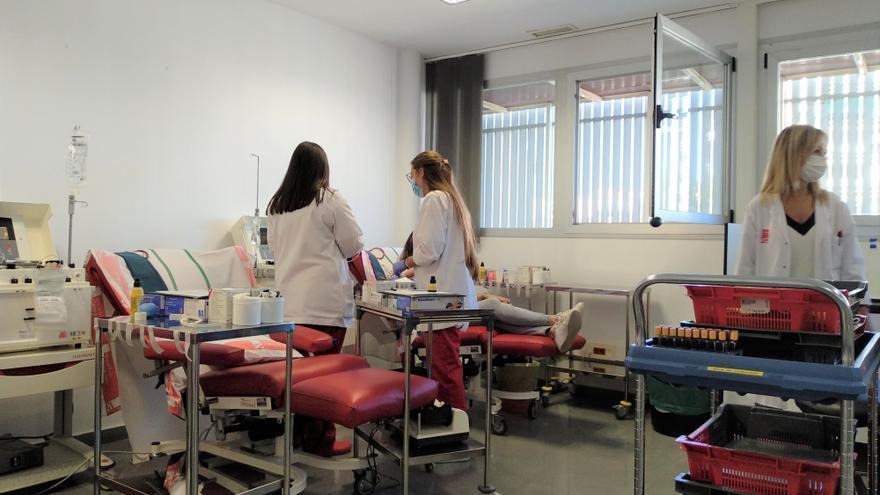 El Banco de Sangre y Tejidos de Aragón culmina la recepción de fondos europeos para la donación de plasma