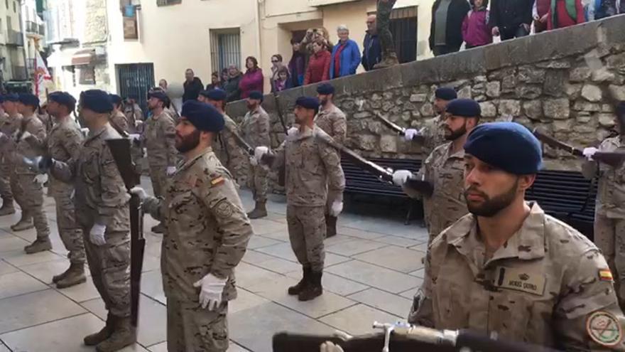 La Guardia Real desfila en Morella