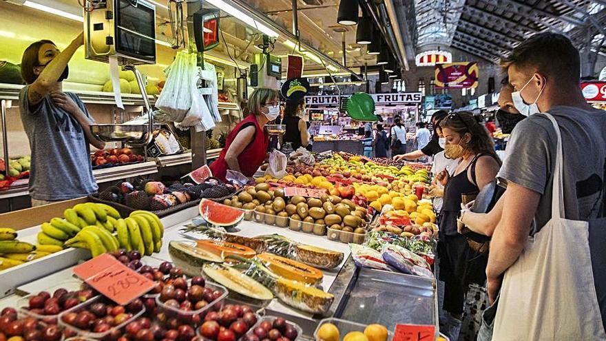 Una apertura atípica  en el Mercado Central