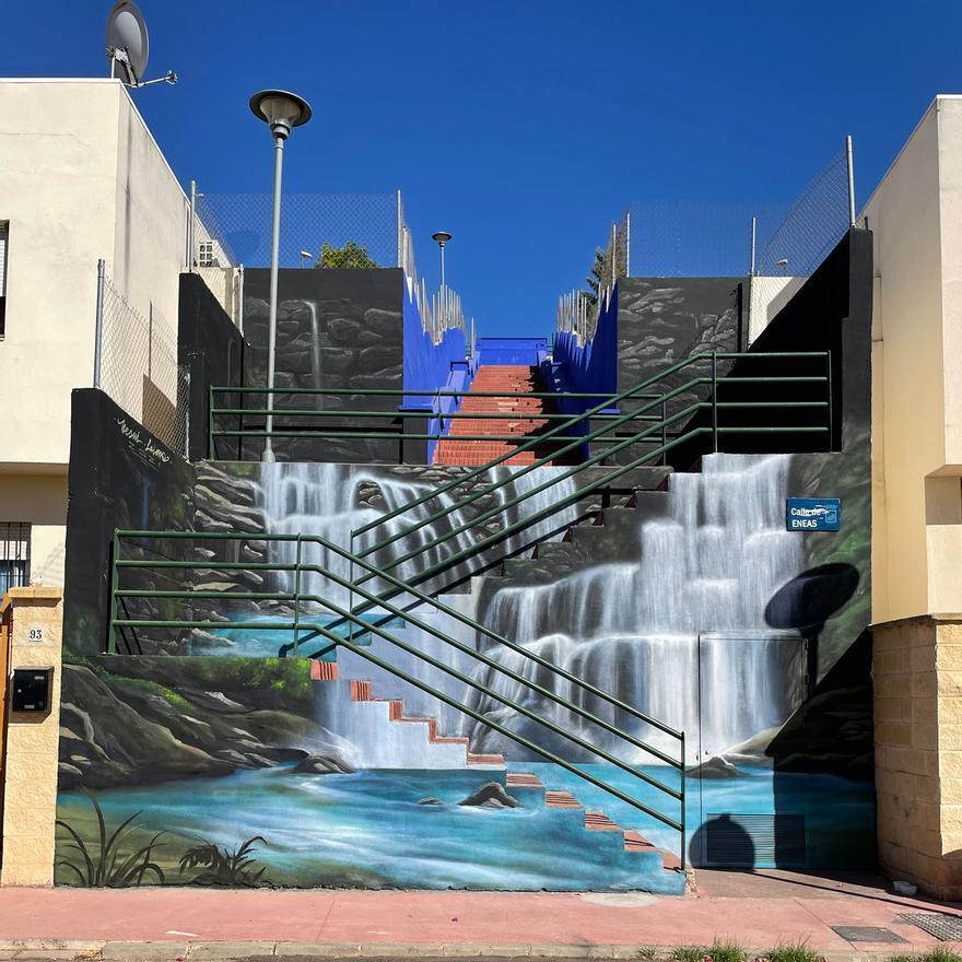 Grafitis y murales en los barrios de Campanillas
