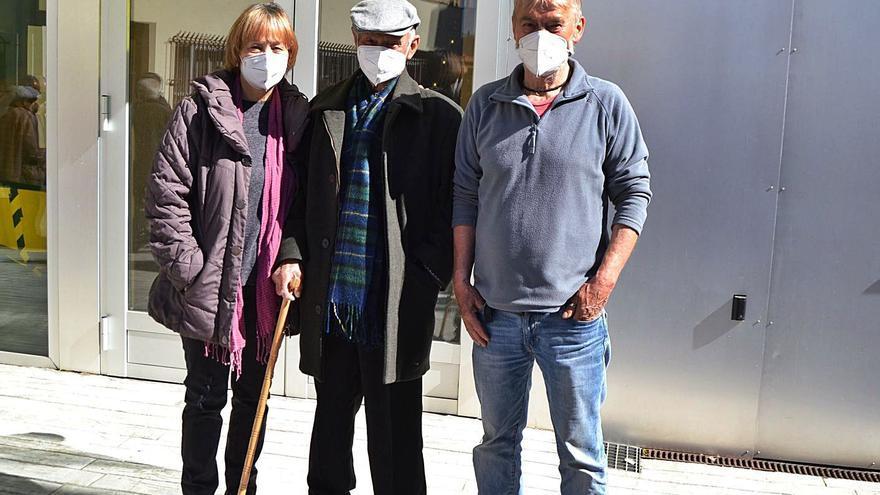 Vacunarse del COVID con 104 años en Sanabria-La Carballeda