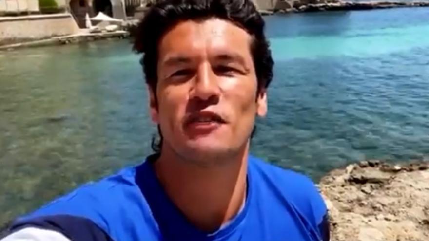 Nelson Haedo Valdez da la bienvenida a Alderete