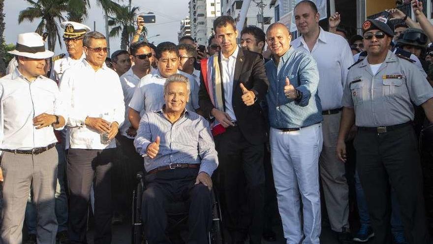 Guaidó emprende el regreso a Venezuela y llama a movilizarse hoy en todo el país