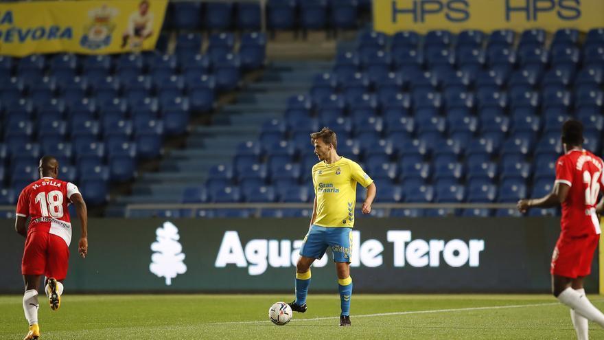 UD Las Palmas - Girona FC (1-2): Al derbi con esperpento
