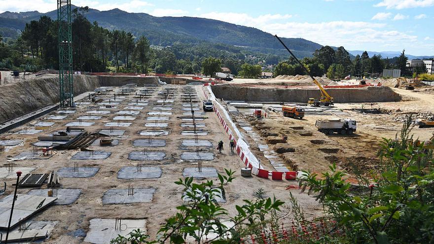 Los cimientos del nuevo Montecelo
