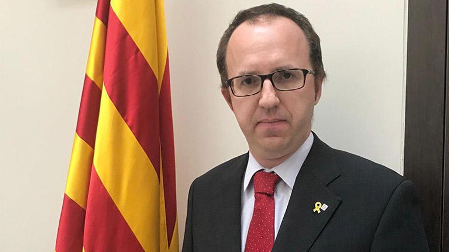 """El delegat del govern a París: """"La situació a França i a Catalunya és igual"""""""