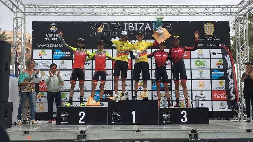 Pablo Rodríguez, tercero en la Vuelta a Ibiza