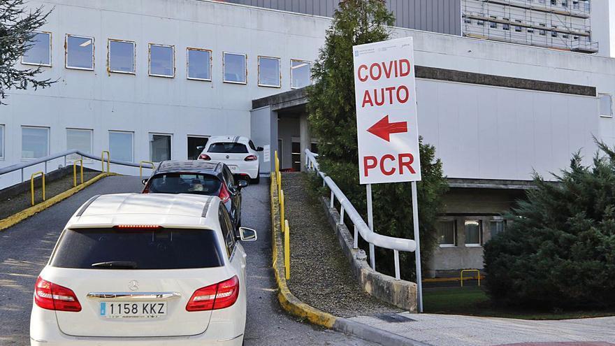 El aumento de las PCR revela un repunte de casos en el área tras las navidades