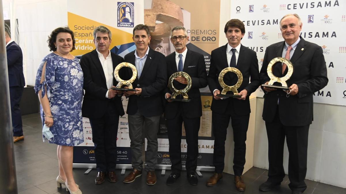 La Sociedad Española de Cerámica y Vidrio entrega cada año los Alfa.
