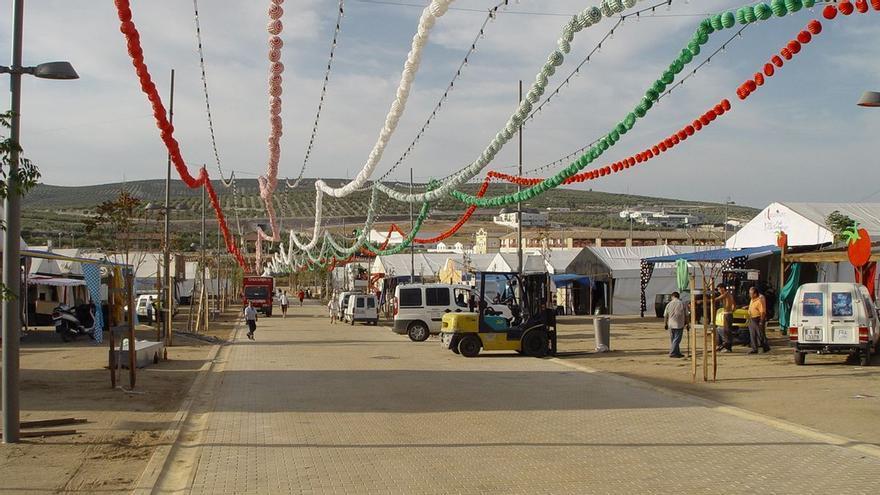 Confirman la instalación de terrazas en el recinto ferial de Lucena