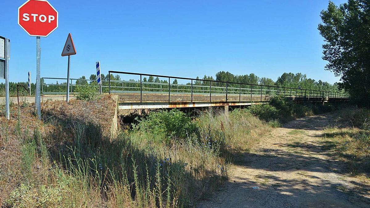 El viaducto desde uno de los laterales.   E. P.
