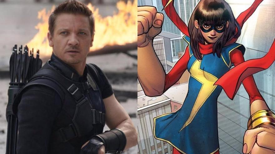 Marvel confirma las fechas de estreno de 'Ojo de Halcón' y Ms. 'Marvel' en Disney+