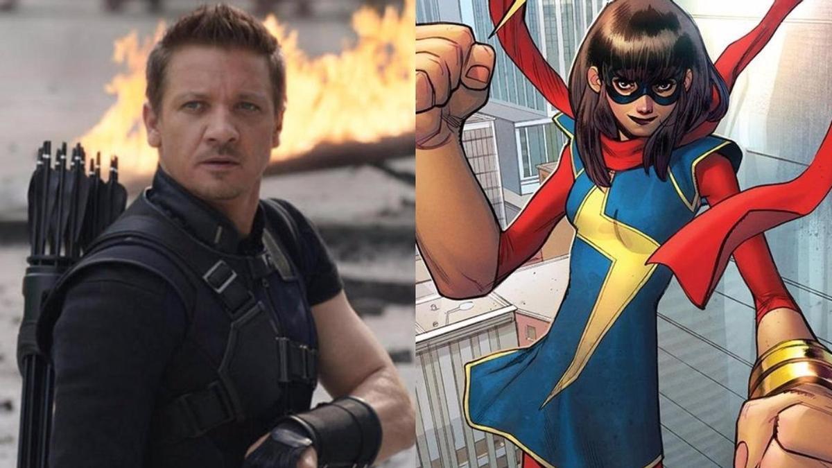 'Ojo de Halcón' y 'Ms. Marvel'