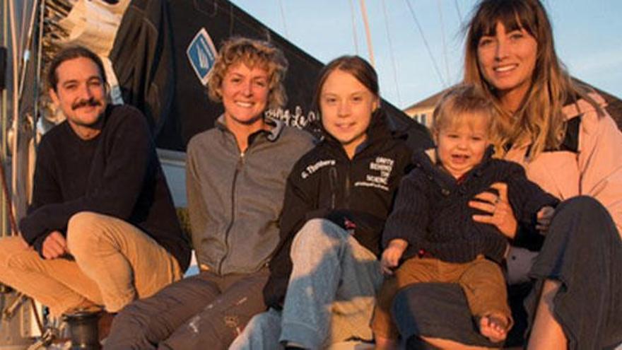 Greta Thunberg aconsegueix un vaixell per viatjar a Espanya
