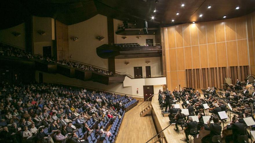 La programación cultural de la ciudad se reducirá por el cierre del Auditorio