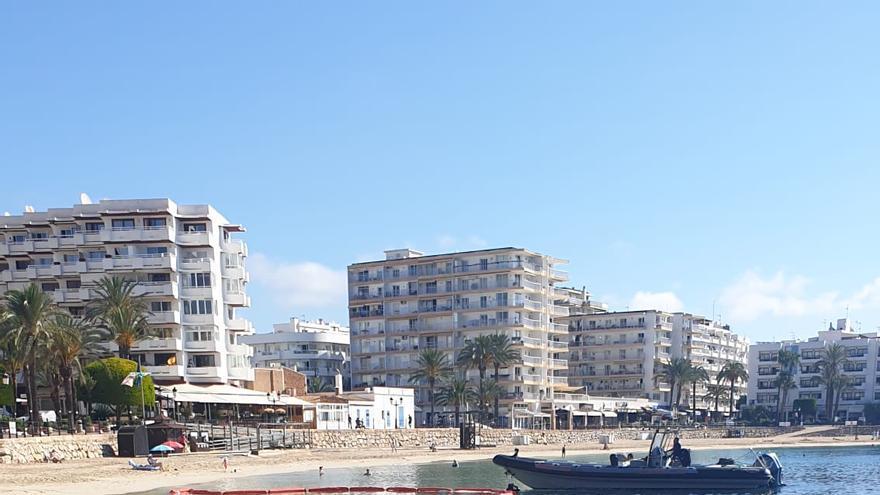 Paralizada por segunda vez una obra en el núcleo urbano de Santa Eulària