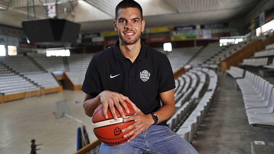 «Tinc molta fam per tornar a jugar i donar el millor de mi amb el Bàsquet Girona»