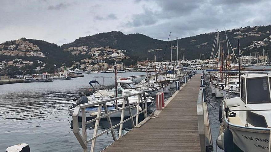 Empiezan las obras para evitar problemas de agitación en el Port d'Andratx