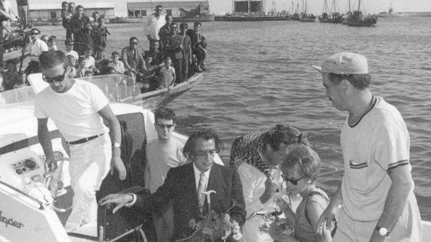 La surrealista visita de Salvador Dalí a Vinaròs
