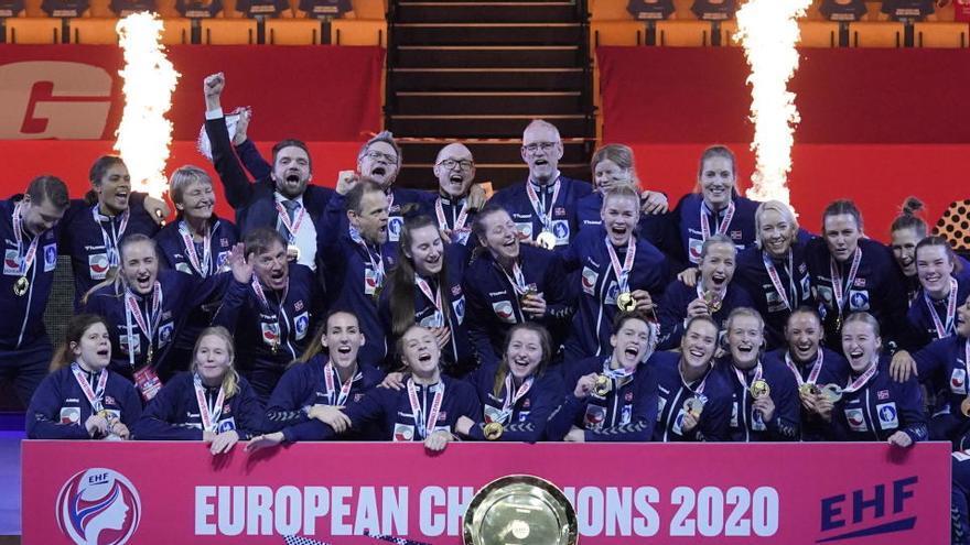 Noruega conquista el Europeo femenino de balonmano
