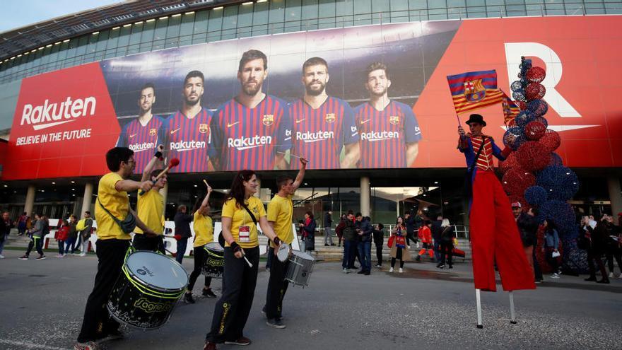 La Generalitat quiere que el Camp Nou sea un espacio masivo de vacunación