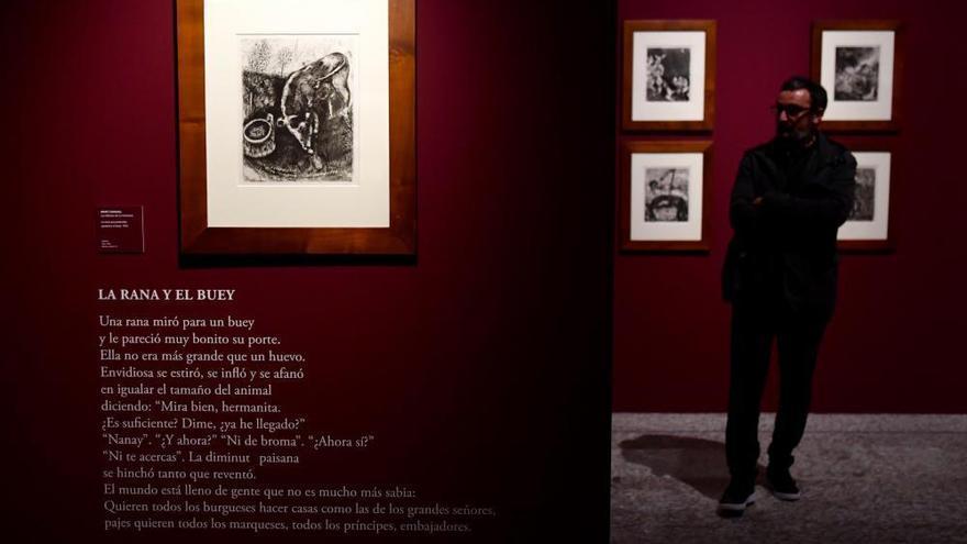 La Fundación Barrié prorroga la exposición de Marc Chagall