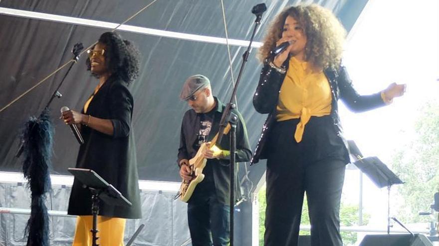 Figueres omple de música el parc de les Aigües