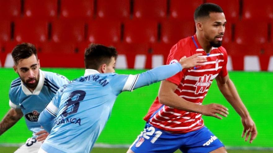 Granada y Celta firman el empate de la tranquilidad