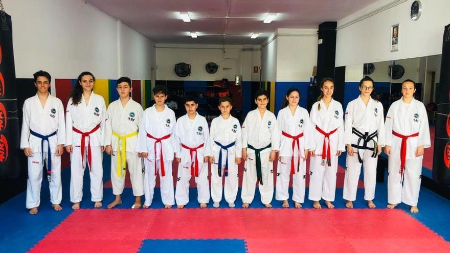 El Club Invictus participa con 11 deportistas en la Copa Benidorm