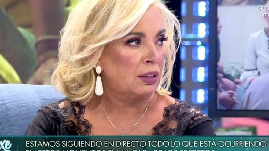 """Carmen Borrego llama """"desquiciada"""" a su sobrina Alejandra Rubio y Terelu estalla"""