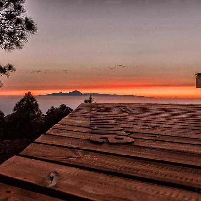 Así se ve el cielo de Gran Canaria desde Tamadaba