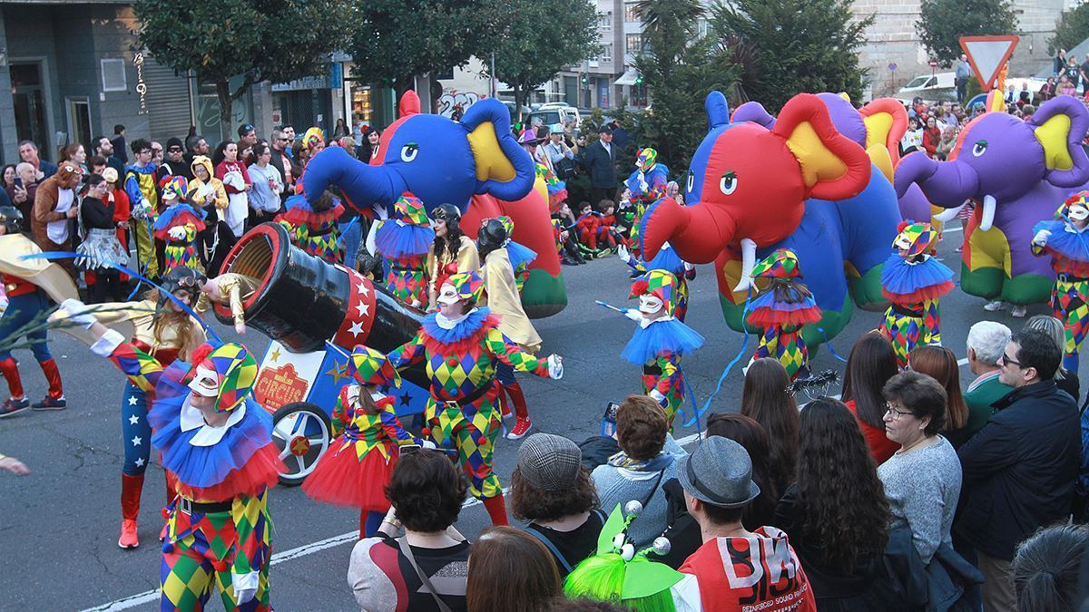 Desfile del Entroido del año pasado