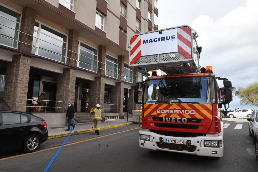 El fuego, que no causó daños personales, se inició en un colchón.